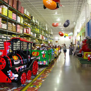a picture of the Jelly Belly Candy Factory
