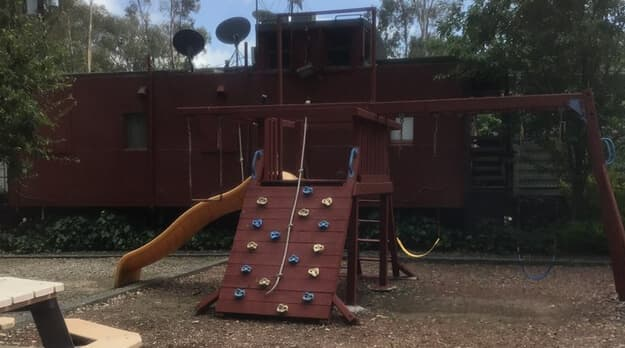 a picture of a playground